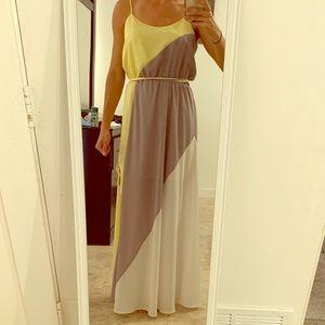 Olive and Oak maxi dress